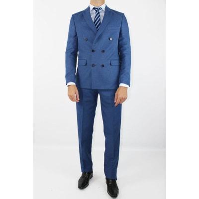 5a104e968ace Costume homme bleu marine en solde   La Redoute