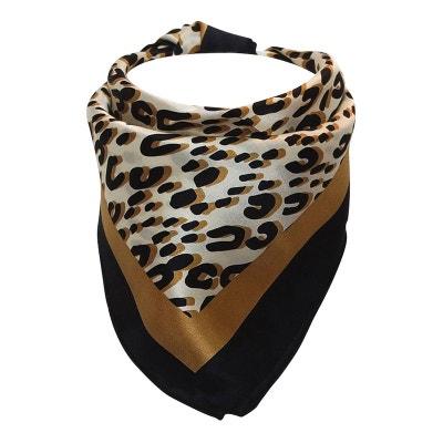 Foulard hôtesse soie léopard Foulard hôtesse soie léopard CHAPEAU-TENDANCE 41c0e52f1a8