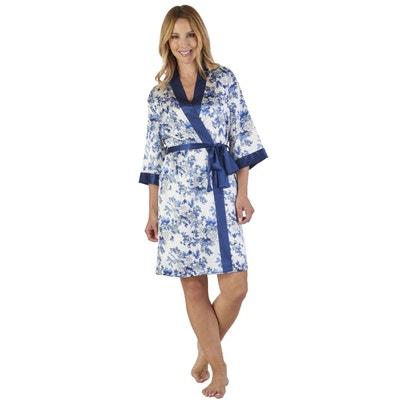 4cfe2b931d9 Robe de Chambre Imprimé Floral SLENDERELLA