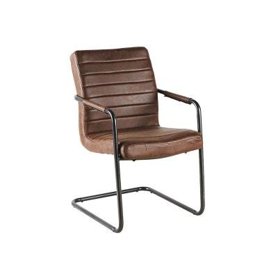 Chaise Bureau Cuir Vintage La Redoute