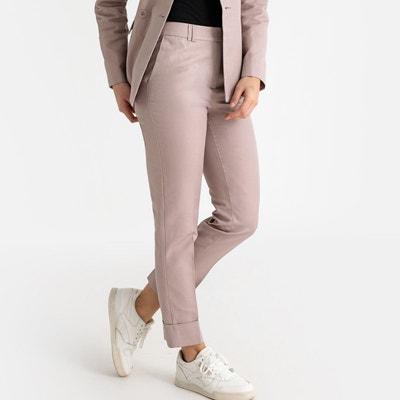 Tailleur pantalon femme beige | La Redoute