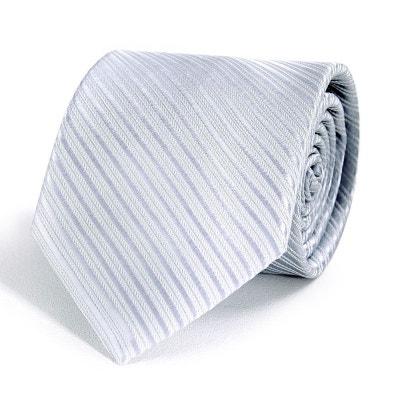 f7c3c33f5edf Cravate Faux-Uni Argent - Fabriqué en europe Cravate Faux-Uni Argent -  Fabriqué
