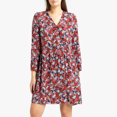 nouvelles variétés bons plans 2017 beau look Robe courte femme petites manches | La Redoute