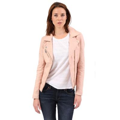 haute couture d62d6 755c1 Blouson cuir rose | La Redoute