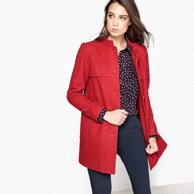 d45954b907d Пальто прямое с воротником-стойкой Пальто прямое с воротником-стойкой LA  REDOUTE COLLECTIONS