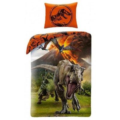 Dinosaure Jurassic World - Parure de Lit Enfant - Housse de Couette  Dinosaure Jurassic World -. HOME a3910b684c66