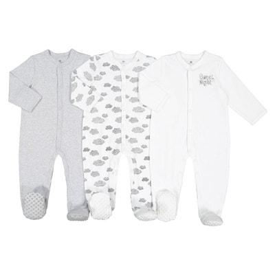 Lot de 3 pyjamas rêve 0 mois - 2 ans Lot de 3 pyjamas rêve 0 c4098d19f7f
