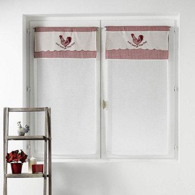 voilage pret a poser la redoute. Black Bedroom Furniture Sets. Home Design Ideas