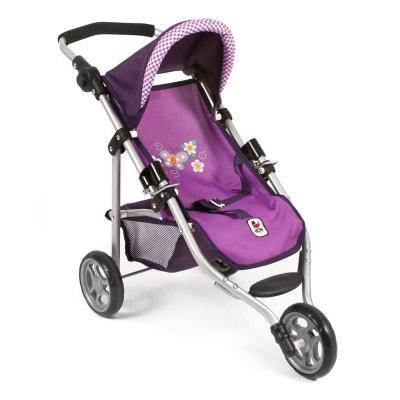 0e50adbb84a8 Bayer Chic 2000 612 28 Petite poussette de jogging LOLA pour poupées -  Purple Checker Bayer