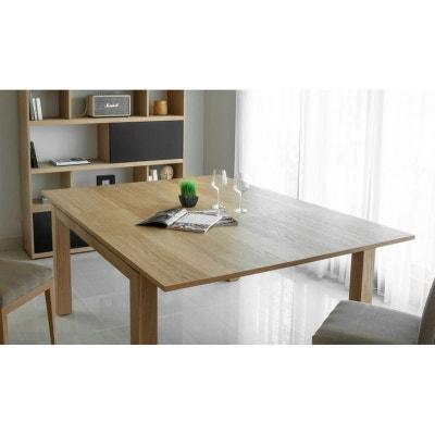 12d0202cf145d0 Table de Repas extensible en Chêne massif naturel 140 190x140x76cm NATHAN  Table de Repas extensible