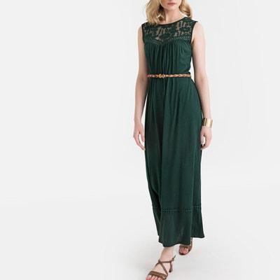 d94e0f53813 Robe longue verte
