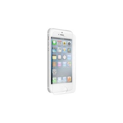 Verre trempé pour écran iPhone 5 5S 5C ou SE Verre trempé pour écran.  AMAHOUSSE 1b472bf4e71