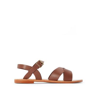 Sandales cuir woody Jonak | La Redoute