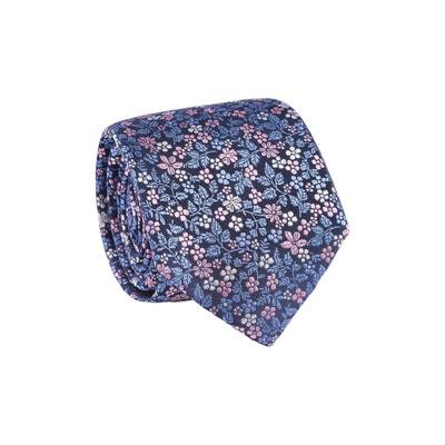 f2e8da33cad4 Cravate standard 100% soie imprimé fleurs TIE RACK