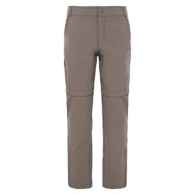 eec744f165 Exploration Convertible - Pantalon zip Femme - marron THE NORTH FACE