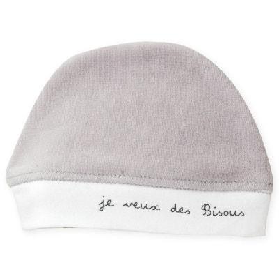 7cfd0e78175e5 Bonnet naissance velours