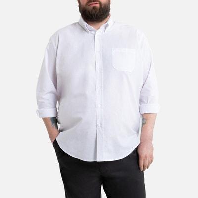 Recht hemd met lange mouwen, lengtemaat 1 Recht hemd met lange mouwen, lengtemaat 1 LA REDOUTE COLLECTIONS PLUS