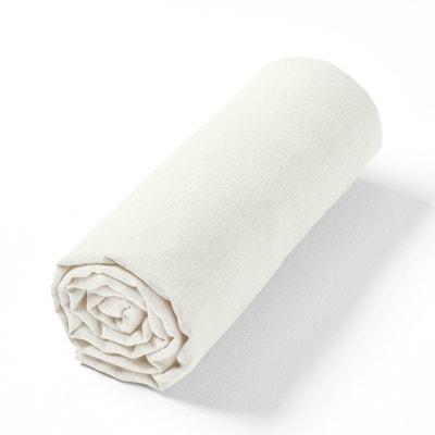 Hoeslaken in gewassen hennep voor dikke matras, Helm Hoeslaken in gewassen hennep voor dikke matras, Helm AM.PM