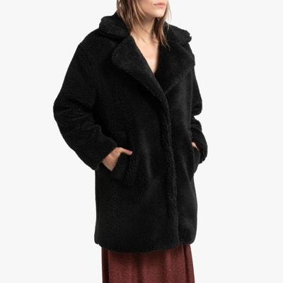 Manteau fourrure noir | La Redoute