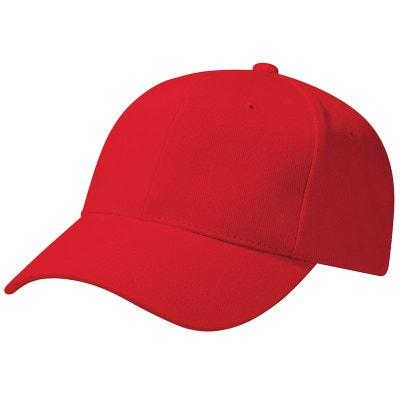 design intemporel f8ed0 3a879 Casquette rouge homme | La Redoute