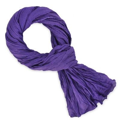 Chèche coton violet uni Chèche coton violet uni ALLEE DU FOULARD 6ba4efd2db4