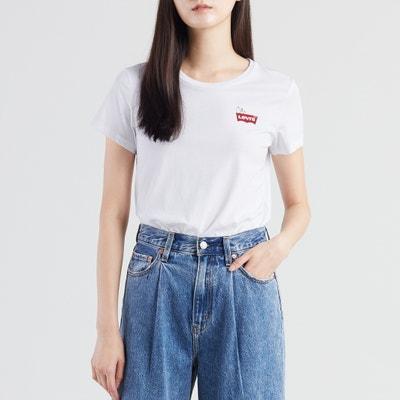 2e45e464a18 Snoopy Peanuts Print Cotton T-Shirt Snoopy Peanuts Print Cotton T-Shirt  LEVI S