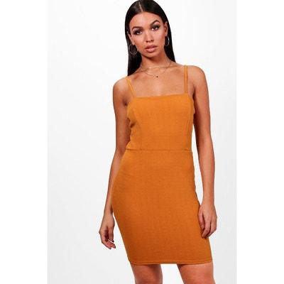 503da02950e93 Robe orange femme   La Redoute