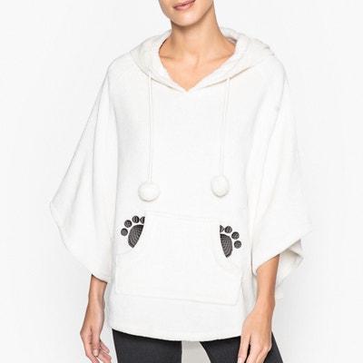45b30f56ed Panda Hooded Fleece Poncho Panda Hooded Fleece Poncho LA REDOUTE COLLECTIONS
