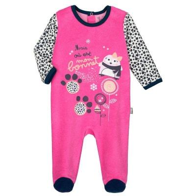 8d1c685f46590 Pyjama bébé velours Snowbear PETIT BEGUIN