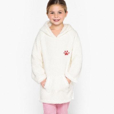 5ad66db32d39c Robe de chambre à capuche en polaire 3-12 ans LA REDOUTE COLLECTIONS
