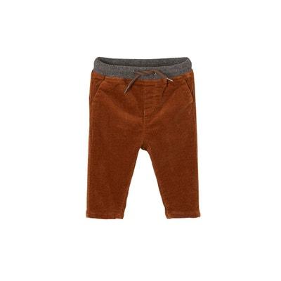 Vertbaudet Pantalon Velours c/ôtel/é b/éb/é gar/çon doubl/é