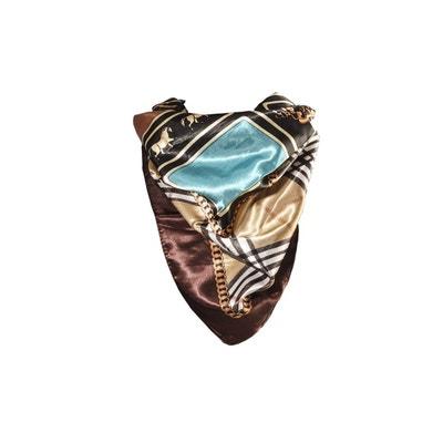 Foulard motif Beige avec sa pochette cadeau VERSACE 19.69 ddae1b4feb2