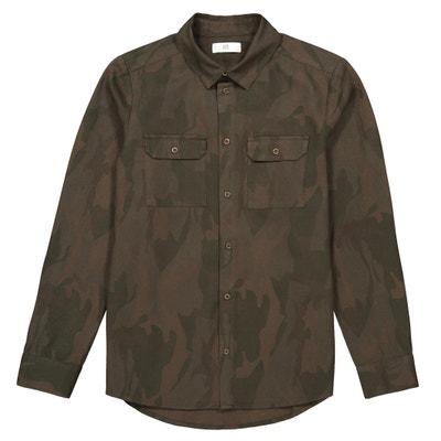 Chemise imprimé camouflage 10-16 ans Chemise imprimé camouflage 10-16 ans LA REDOUTE COLLECTIONS