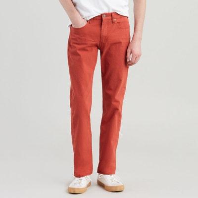 d9b55ac254c Pantalon en toile de coton stretch coupe 511 slim Pantalon en toile de  coton stretch coupe