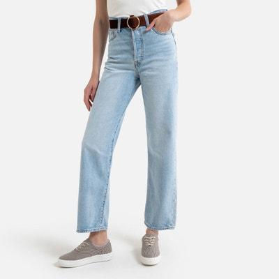 Mélange Coton Femme Denim Pantalon raccourci Poches Tailles 12 14 16 18 20 22