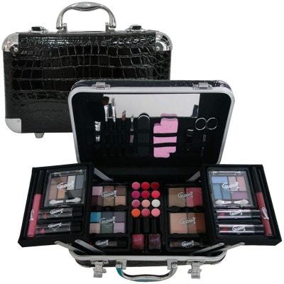 Coffret cadeau coffret maquillage mallette de maquillage valise Croco -  62pcs GLOSS e2b8e0a832ff