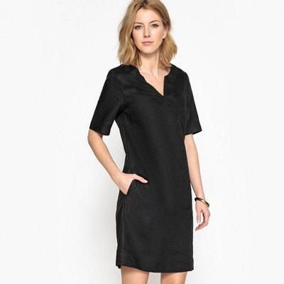 58c181f9bc7 Robe noir droite femme