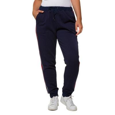 Pantalon de jogging avec bandes contrastantes Pantalon de jogging avec  bandes contrastantes ULLA POPKEN 4fdb8bfad2a