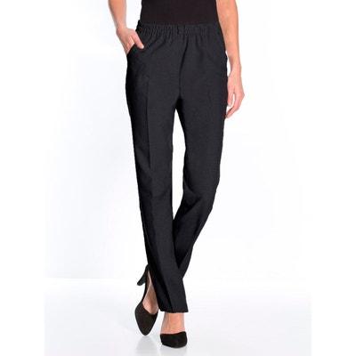 f9969226dd10 Pantalon taille élastiquée, entrejambe 78cm Pantalon taille élastiquée,  entrejambe 78cm CHARMANCE