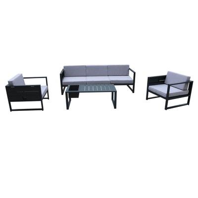 Table basse salon de jardin aluminium | La Redoute