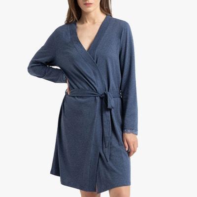 1b0d426df6892 Robe de chambre manches longues Robe de chambre manches longues LA REDOUTE  COLLECTIONS