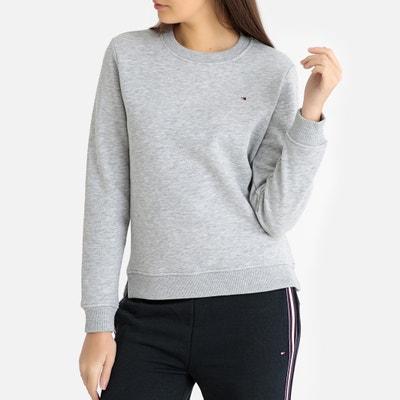 0d5535472fe Gemêleerde sweater met logo vooraan TOMMY HILFIGER