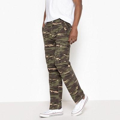 2e2c24d9a27 Pantalon cargo camouflage regular Pantalon cargo camouflage regular LA  REDOUTE COLLECTIONS