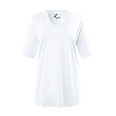 V La Blanc Shirt Tee Redoute Col Femme qXtxw