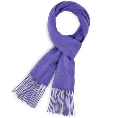 0cf0e3617bc Echarpe FELY Violet Indigo uni - Fabriqué en France Echarpe FELY Violet  Indigo uni - Fabriqué
