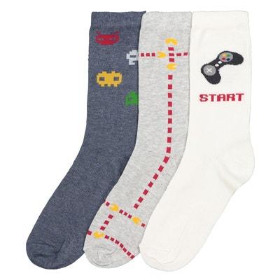 0d22742064d Lot 3 paires de chaussettes imprimées Lot 3 paires de chaussettes imprimées  LA REDOUTE COLLECTIONS