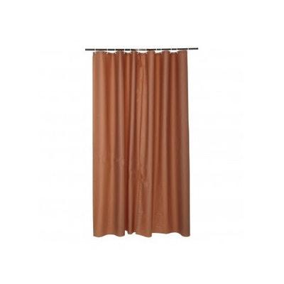 rideau de douche marron la redoute. Black Bedroom Furniture Sets. Home Design Ideas
