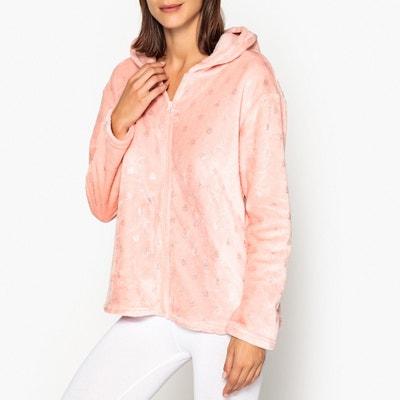 Zip-Up Hooded Loungewear Jacket Zip-Up Hooded Loungewear Jacket LA REDOUTE  COLLECTIONS e9a5ce214