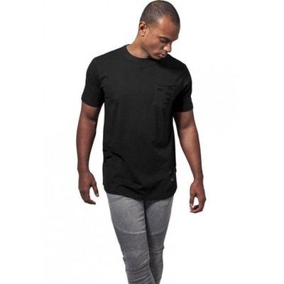 9938430892d T-shirt effet déchiré avec poche URBAN CLASSICS