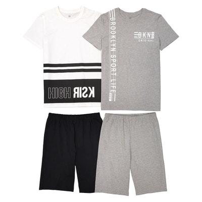 Pyjama GarconLa Redoute Short GarconLa Short Pyjama XnOwk80P